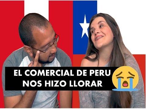 Reaccionando a COMERCIALES de PERU Y CHILE Con VENEZOLANOS