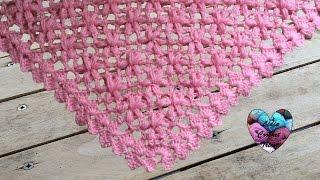 V2movie Châle Japonais Facile Au Crochet