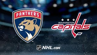 Florida Panthers vs Washington Capitals – Oct.19, 2018 | Game Highlights | NHL 18/19 | Обзор матча
