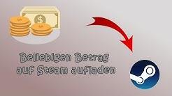 Beliebiges Steam Guthaben aufladen (Restguthaben paysafecard)