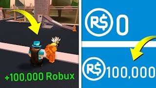 I WIN 100,000 ROBUX IF I ARREST HER IN JAILBREAK! (Roblox)