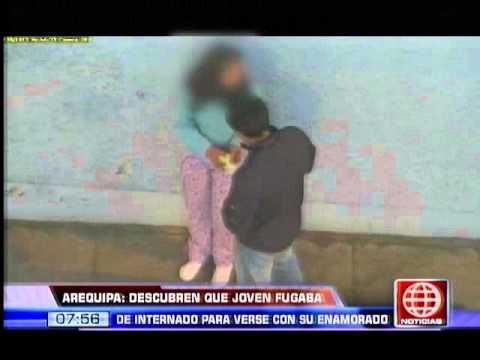 América Noticias: Descubren a adolescente que se había fugado con su enamorado toda la noche