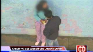 América Noticias: Descubren a adolescente que se había fug...