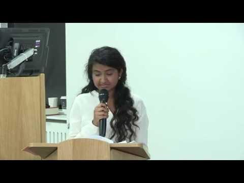 IATAJ  Conference 2014:  Bharathi Rajanayagam
