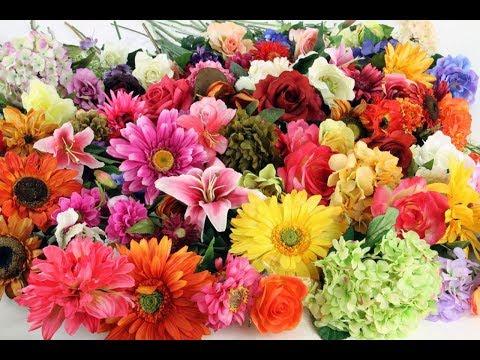Искусственные цветы, где купить