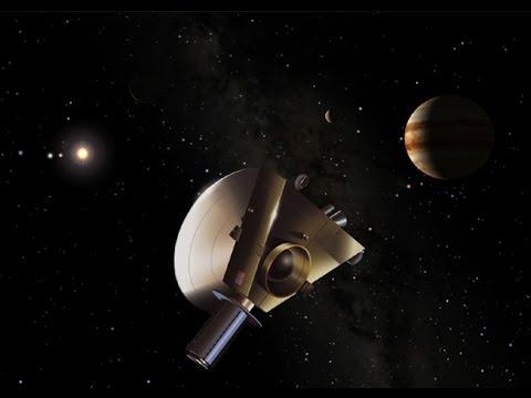 Получены первые снимки с Плутона. Зонд Новые Горизонты.