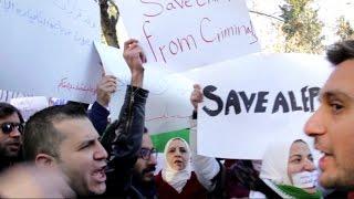 أخبار عربية | إعتصامات بمدينة غازي عينتاب التركية من اجل حلب