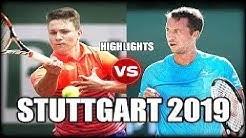 Miomir Kecmanovic vs Philipp Kohlschreiber - Highlights STUTTGART 2019