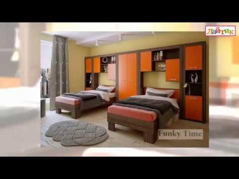 Дизайн-проект интерьера. Детская комната. Корпусная и модульная мебель Фанки. И-Магазин Лайтик