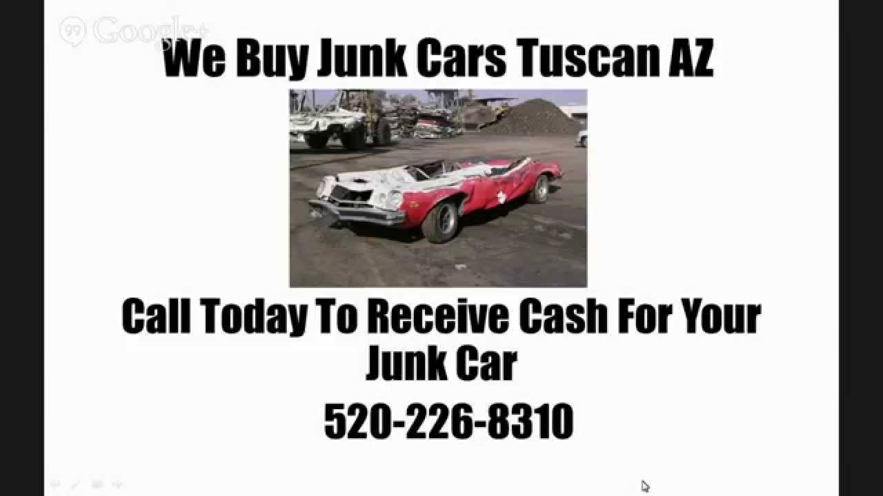 We Buy Junk Cars Tucson AZ - Call 520-266-8310 - Cash For Junk Cars ...