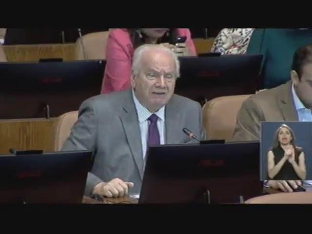 Intervención  Diputado José Miguel Ortiz SO 5°,  miércoles 21 de marzo de 2018.