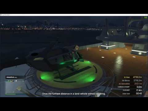 GTA 5: defending yacht with tank
