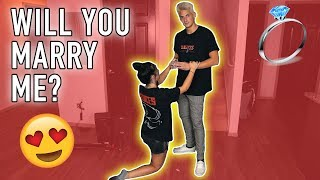 MY GIRLFRIEND ASKED ME TO MARRY HER! *HUGE SURPRISE*