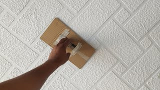 Brick wall painting cool and easy method
