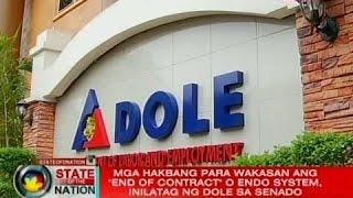 SONA: Mga hakbang para wakasan ang Endo System, inilatag ng DOLE sa senado