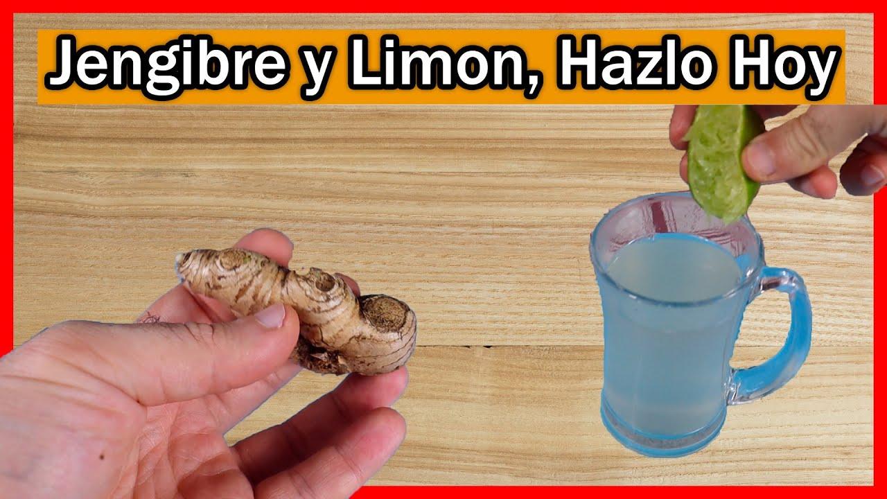 ¿Para qué sirve el Jengibre con Limón beneficios del jengibre con limón para la salud