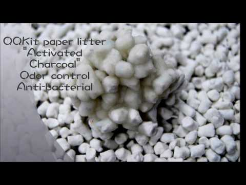 """QQKit paper litter-""""Activated Charcoal"""""""