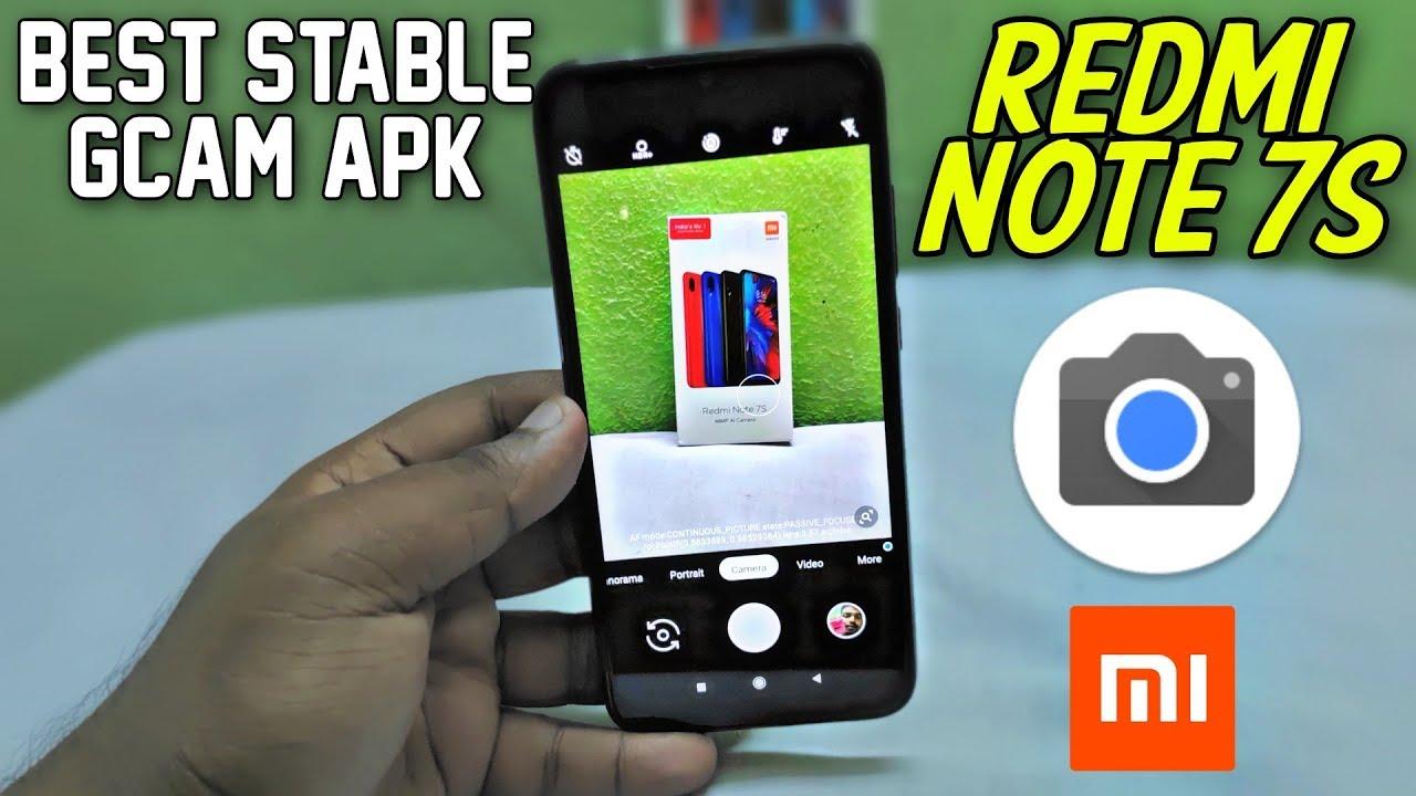 Redmi Note 7s | Best Stable Google Camera APK | Hindi Tech Video
