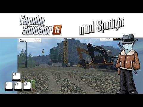 Farming Simulator 15 Mod Spotlight - Going Mining!