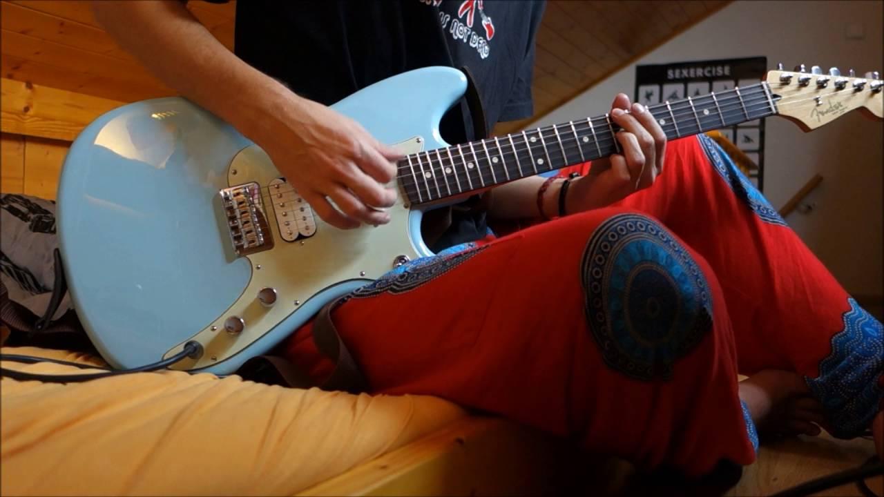 fender offset duo sonic hs 2016 guitar test youtube. Black Bedroom Furniture Sets. Home Design Ideas