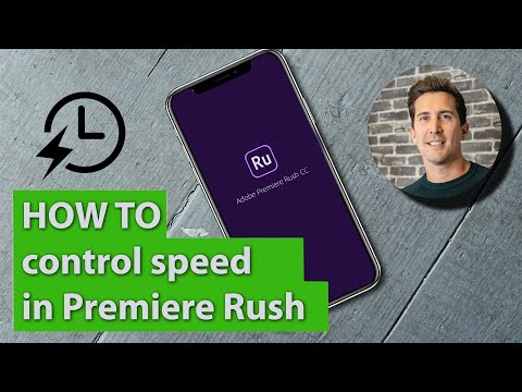 Adobe Premiere Rush Tutorial | Slow Motion, Slow Mo Footage & Speed Ramp