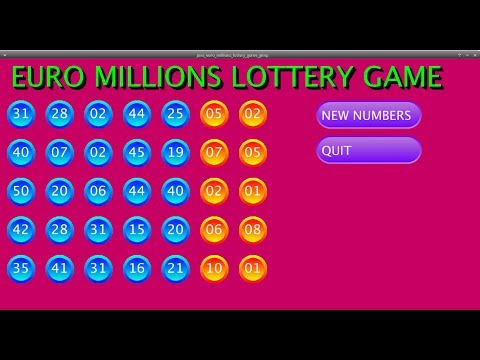 Processing java mode EURO MILLIONS lottery game (buttons created with THE GIMP)