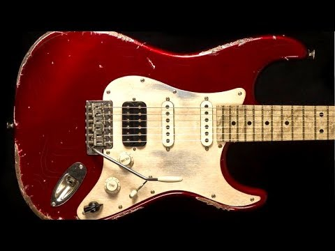 Funky Blues Rock | Guitar Backing Track Jam in A