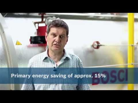 Bosch steam boiler system combined with solar thermal for th