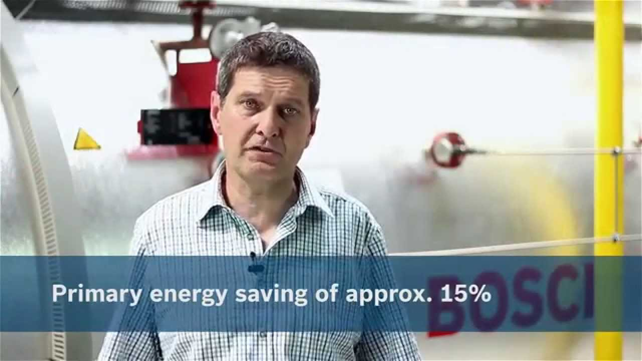 Bosch steam boiler system combined with solar thermal for the ...