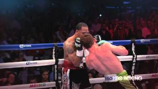 Canelo Alvarez vs. James Kirkland Highlights: HBO World Championship Boxing