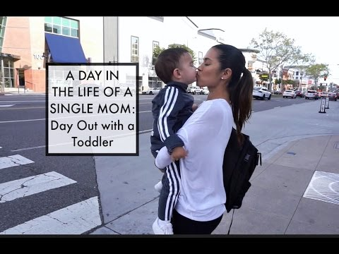 A DAY IN THE LIFE OF A SINGLE MOM | Day out with a Toddler