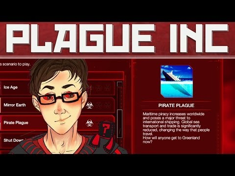 Plague Inc Evolved: Tentacle Pirate Face! (Scenario Saturday!)