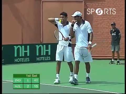 Davis Cup 2012 | Vishnu Vardhan/Divij Sharan vs Michal Venus/Daniel King | INDvNZ