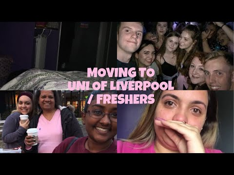 Moving to University of Liverpool/Room Tour/Freshers Week - Nikita Jade