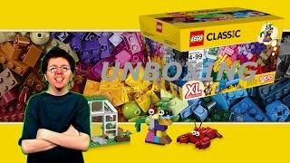 UNBOXING LEGO CLASSIC LARGE 10705