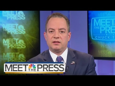 Reince Priebus: Press Briefings Could Change, Possibly Quadruple in Size | Meet The Press | NBC News