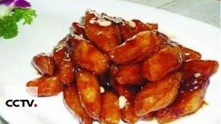 Китайская кухня: Креветки в кисло-сладком томатном соусе