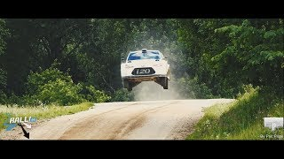 Overview of Hyundai i20 WRC Test in Southern Estonia 26-27 06 2018