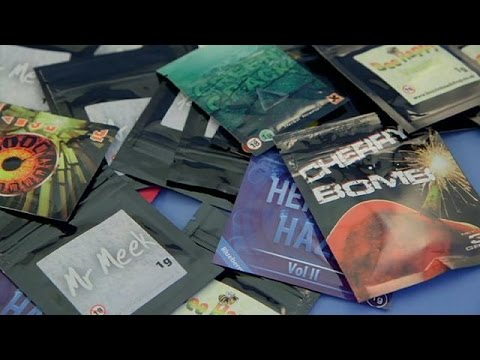 Outlawing legal highs - on the frontline