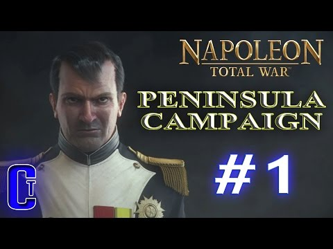 Napoleon:Total War | Peninsula Campaign (Part 1)  - Getting a foothold