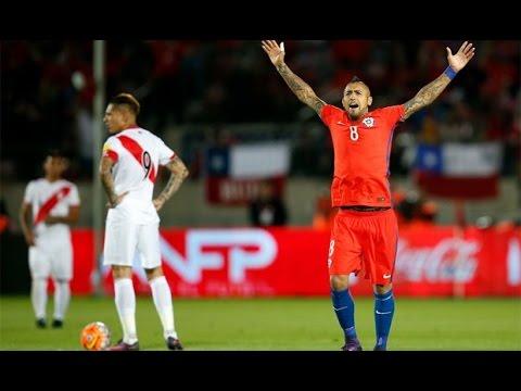 Arturo Vidal vs Perú - World Cup Qual. 11/09/2016 HD 720p