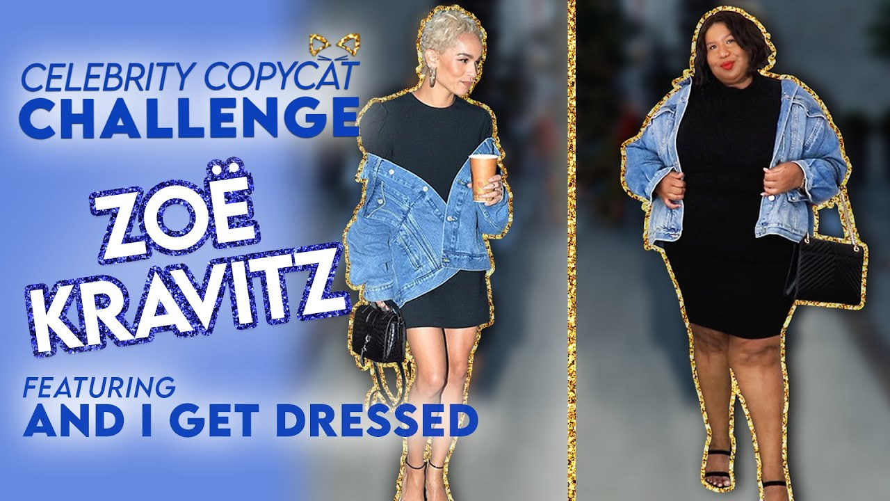 Recreating Zoë Kravitz Looks From My Closet ft. And I Get Dressed | Celebrity Copycat Challenge