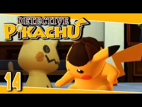 Detective Pikachu Part 14 UNDER MIMIKYU'S CLOTH Gameplay Walkthrough 3DS