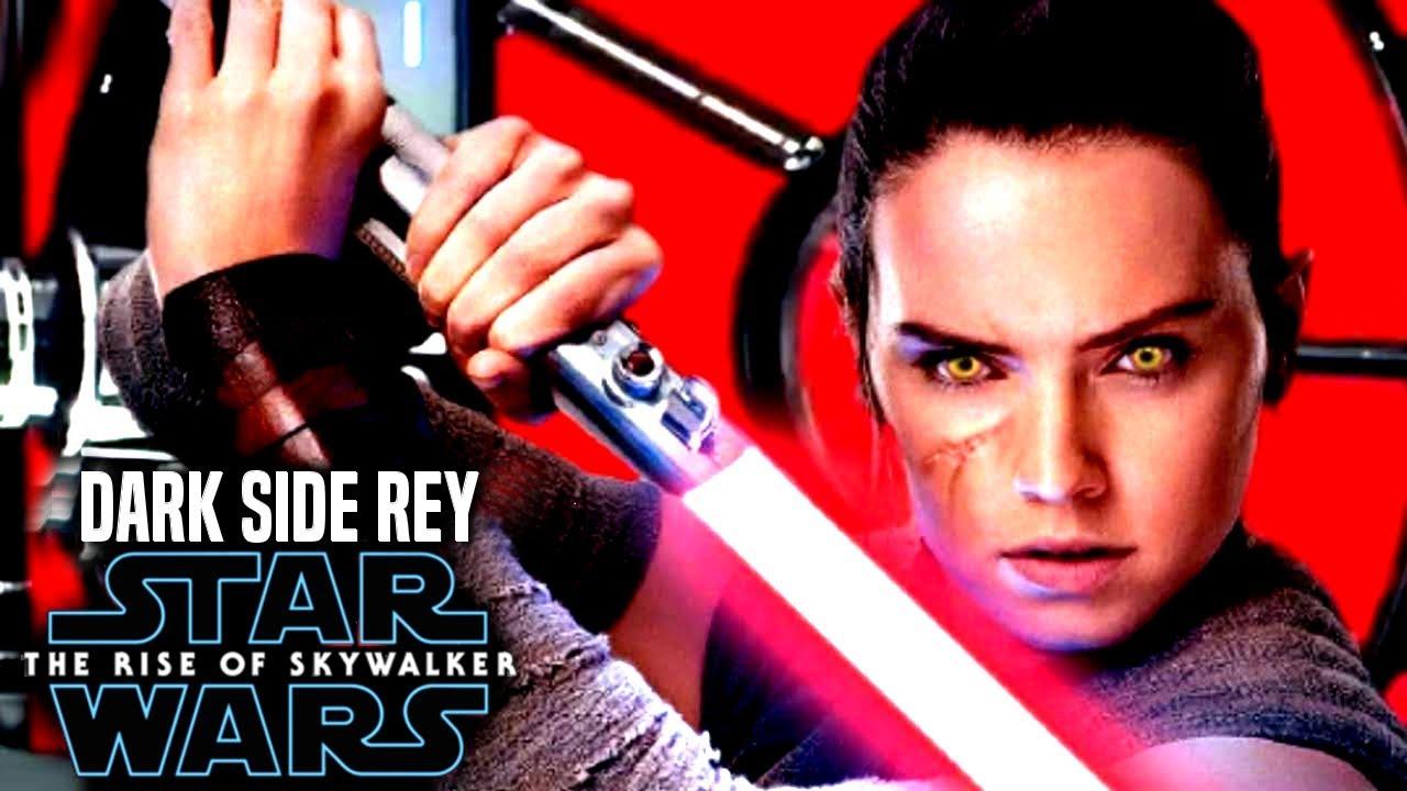 Daisy Ridley Responds To Dark Rey The Rise Of Skywalker Star Wars Episode 9 Youtube