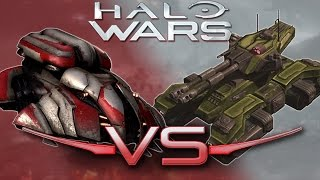 Wraith Vs. Grizzly | Halo Wars 2 Unit Battle