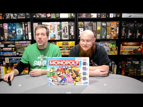 Unboxing of Monopoly Gamer