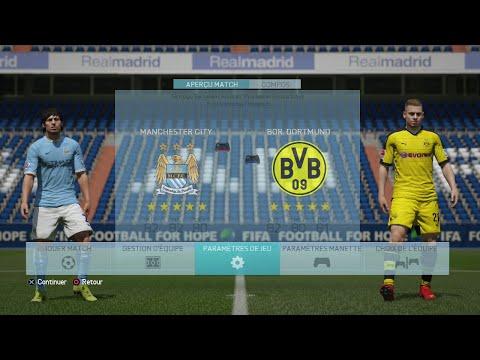 Demo FIFA 16 Manchester city Borussia Dortmund
