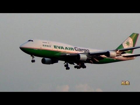RCTP民航機降落與起飛美姿.