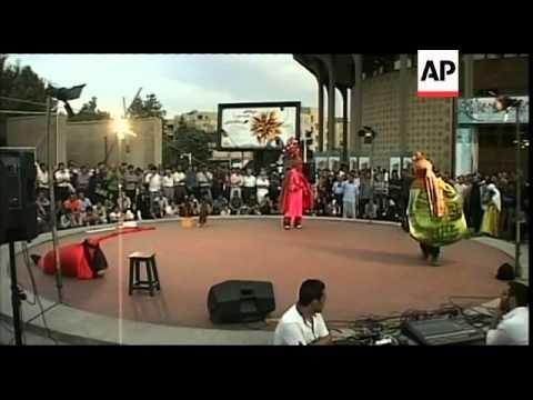 Traditional theatre festival in Tehran