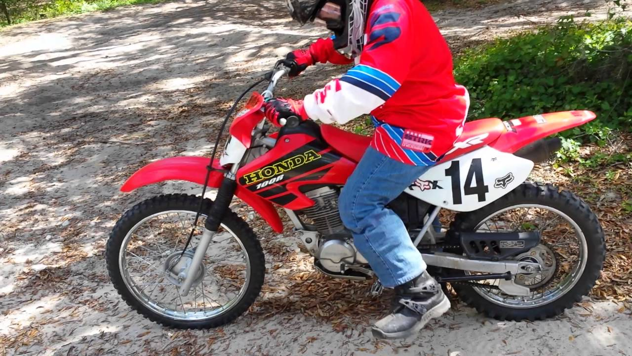 How to kick-start a 100cc dirt bike